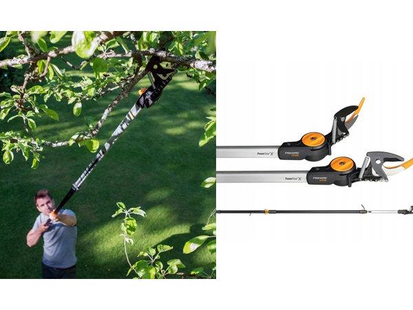 Narzędzia teleskopowe – prace w ogrodzie bez drabiny