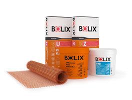 Produkty systemu ociepleń Bolix: masy tynkarskie, zaprawy klejowe