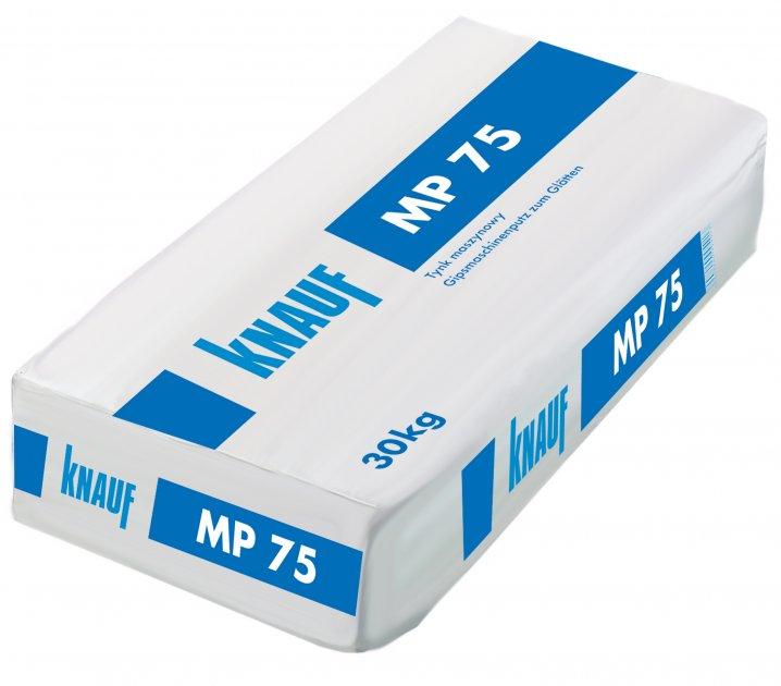 tynki gipsowe Knauf MP 75 oraz Knauf MP 75L