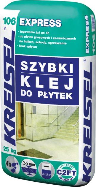 KREISEL SZYBKI KLEJ DO PŁYTEK EXPRESS 106,