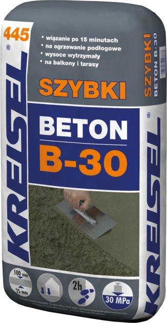 KREISEL SZYBKI BETON B-30 445,