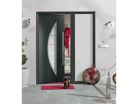 Drzwi ThermoPro Plus to połączenie dobrej izolacyjności cieplnej, bezpieczeństwa  i nowoczesnego wzornictwa.