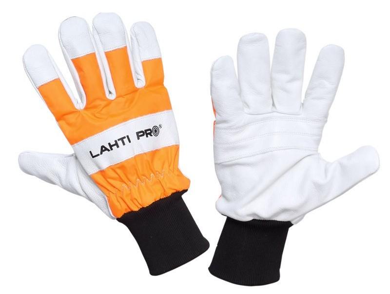LAHTI PRO Rękawice chroniące przed przecięciem piłą łańcuchową