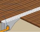 Przed garażem umieszcza się w poprzek odwodnienie liniowe: 1 – kostka brukowa, 2 – kanał odwodnienia przykryty rusztem, 3 – rura odprowadzająca wodę do kanalizacji.