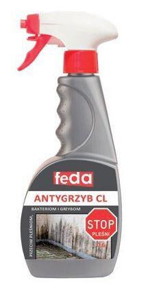 ONDULINE º Preparat przeciw pleśniom, bakteriom i grzybom FEDA ANTYGRZYB CL 0,6 l