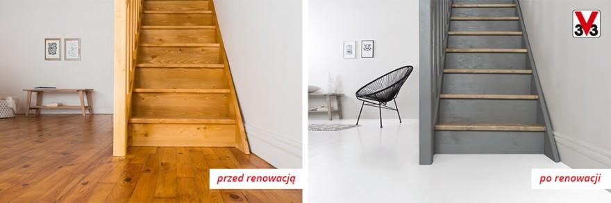 Renowacja schodów i podłogi