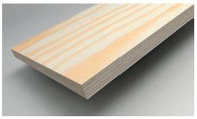 SKLEJKA-EKO Sklejka sosnowa w formacie 1250 x 1250 mm