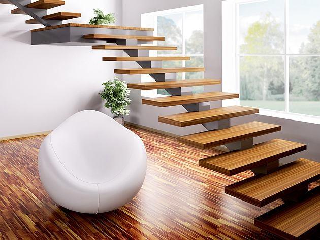 Wygodne schody wewnętrzne