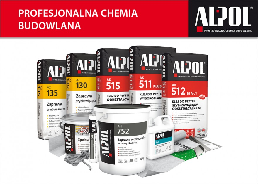 Chemia budowlana ALPOL