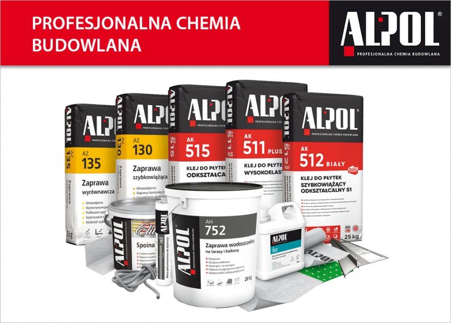 Profesjonalna chemia budowlana ALPOL