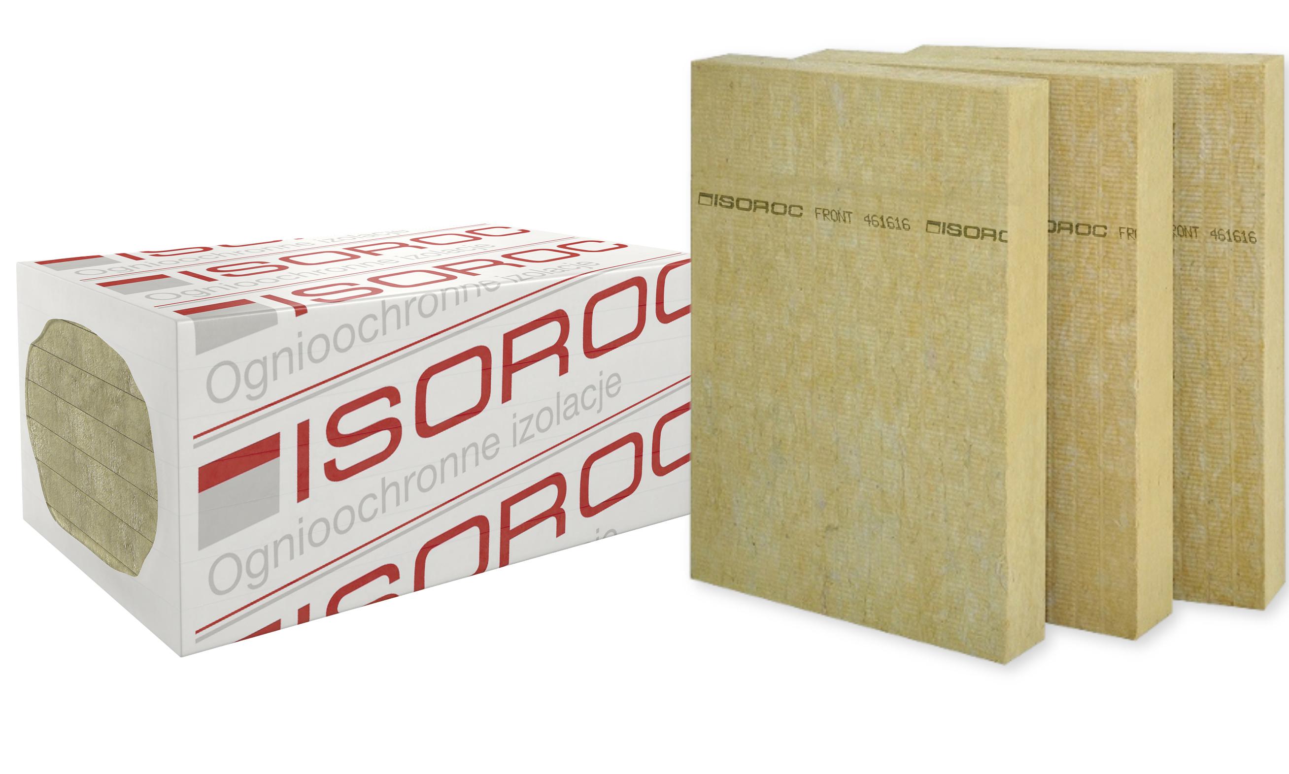 Zdj. 1. Płyty ze skalnej wełny mineralnej ISOFAS. Źródło: Archiwum ISOROC.