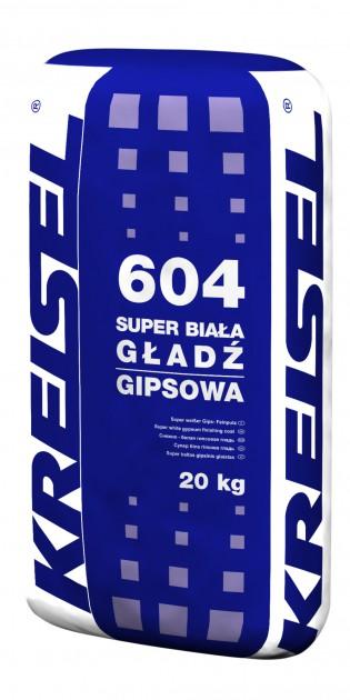 604 Super Biała Gładź Gipsowa