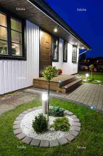 Oświetlenie rabat ogrodowych – jak dobrać oprawy i źródła światła