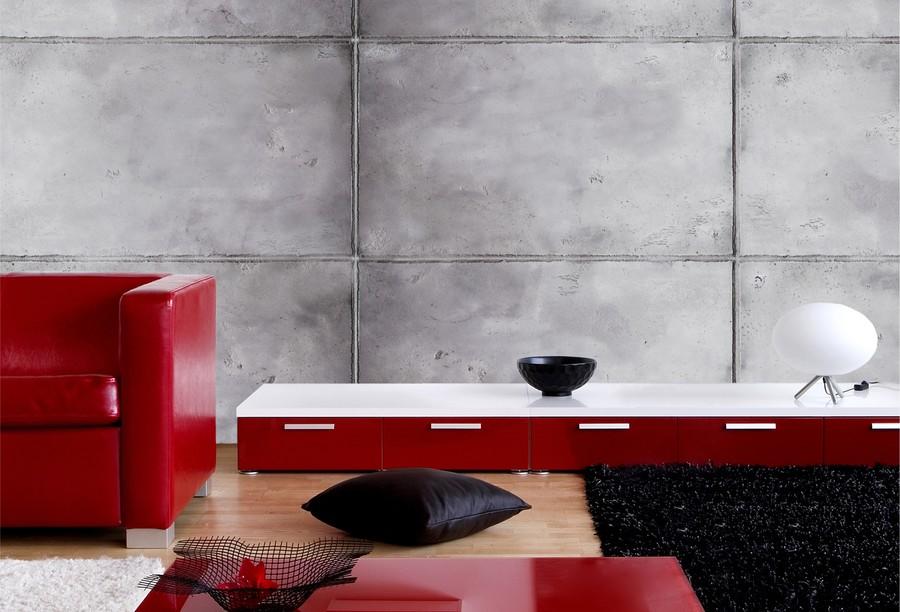 Rys.3. PRIMACOL DECORATIVE Efekt płyt z betonu architektonicznego