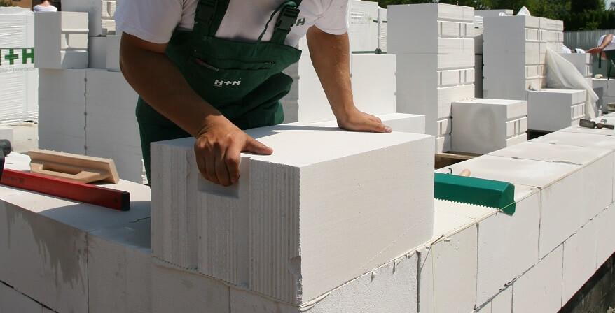 Murowanie ścian zewnętrznych - H+H