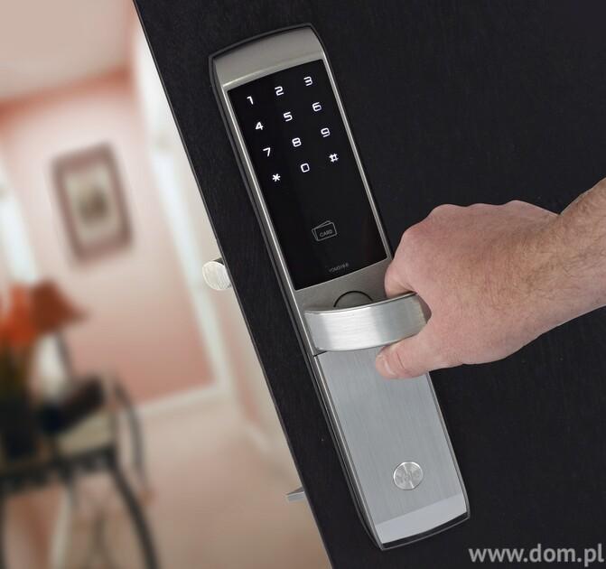 Zamek do drzwi wejściowych na kod