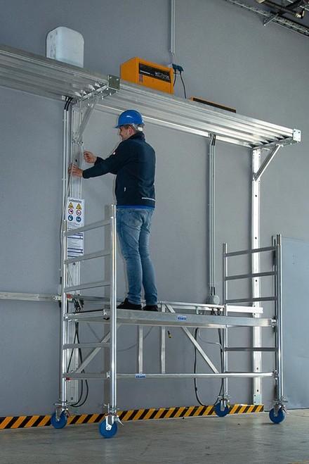 Zdj.2. Rusztowanie aluminiowe KRAUSE STABILO Professional