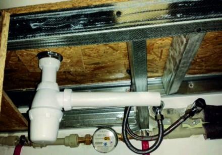 Instalacja kanalizacyjna - odpływ umywalki