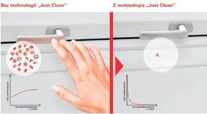 """ROTO - Klamka z technologią """"JUST CLEAN"""" przeciwko zarazkom"""