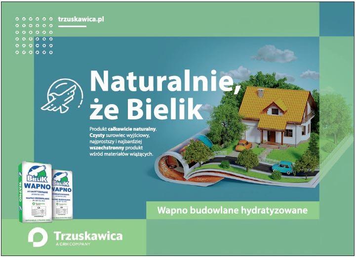 Trzuskawica - Wapno budowlane hyratyzowane