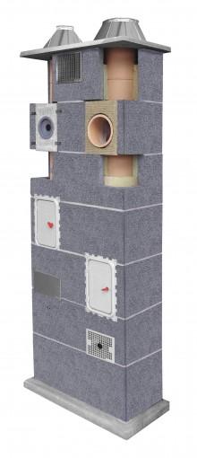 Zdj.2. System kominowy LEIER DUO