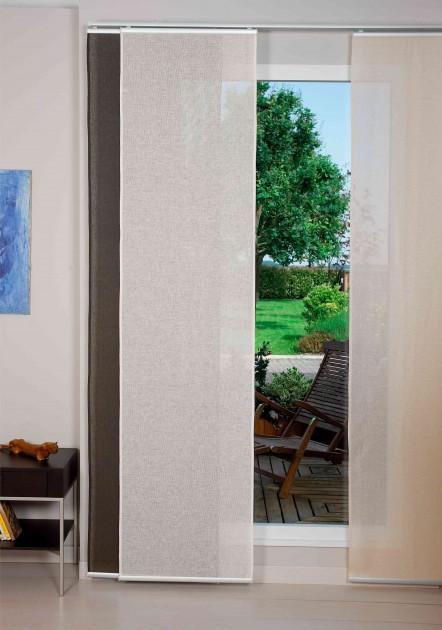Zasłony panelowe sprawdzą się w każdym pomieszczeniu (fot. AdobeStock)