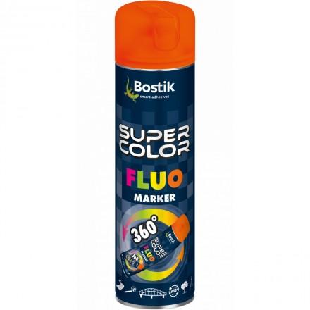 Fot.2. Fluorescencyjny lakier w spray'u –  podkreślona widoczność. Fot. Bostik