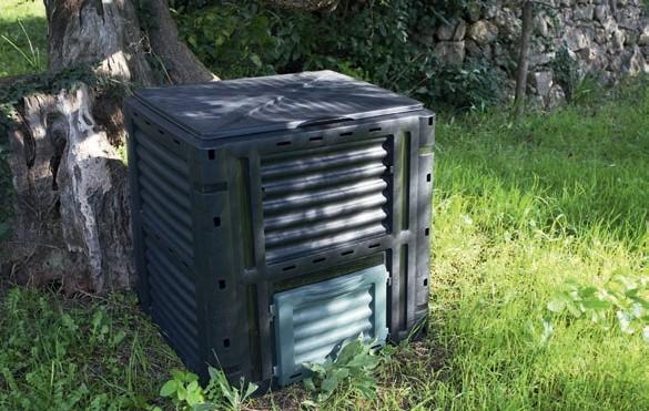 Zdj 5. Bioodpady we własnym ogrodzie