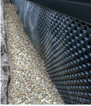 Ściana fundamentowa/drenaż
