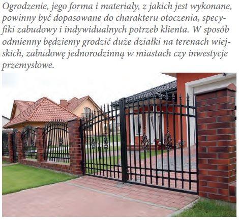 ATEX - Systemy ogrodzeń posesyjnych