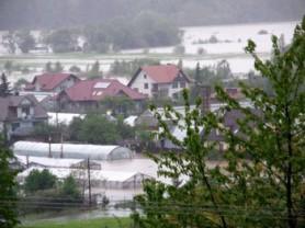 Fot. Poliplast – Skutki intensywnych opadów deszczu.
