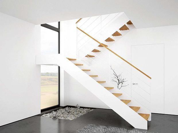 Dwubiegowe schody wewnętrzne