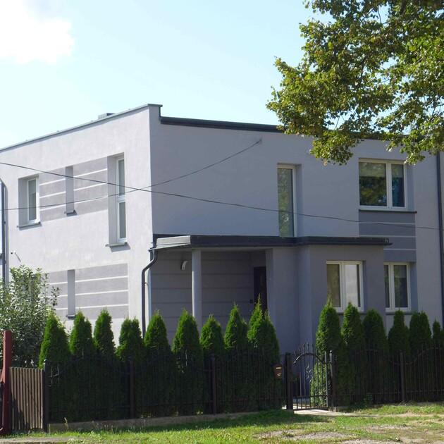 Nowoczesny dom kostka