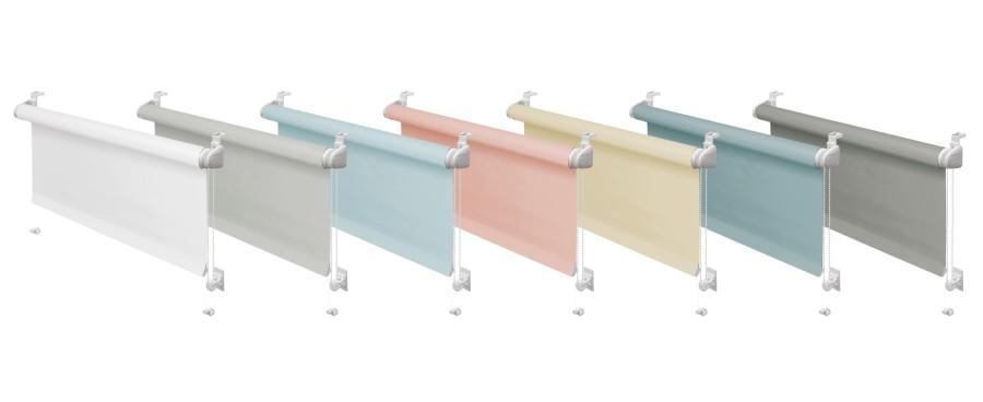 Zdj. 1. TONE to siedem fantastycznych pastelowych kolorów do wyboru. Źródło: Archiwum GARDINIA.