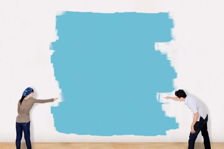 Malowana powierzchnia powinna być czysta i równa