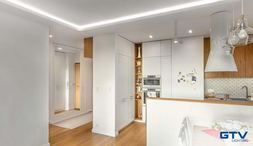 Oświetlenie do kuchni to już nie tylko jedna, centralnie umieszczona lampa wisząca