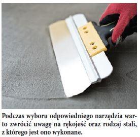 Podczas wyboru odpowiedniego narzędzia warto zwrócić uwagę na rękojeść oraz rodzaj stali, z którego jest ono wykonane.
