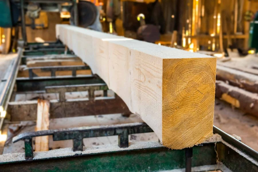 Drewno budowlane z tartaku