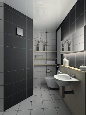 Nowoczesny wentylator łazienkowy