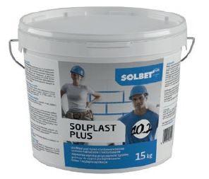 Solplast Plus 10.2 to gotowy do użycia grunt, którego zadaniem jest wzmocnienie podłoża i zwiększenie przyczepności nakładanego tynku.
