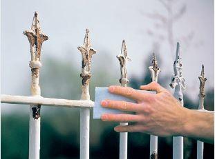 AKZO NOBEL - renowacja ogrodzeń metalowych