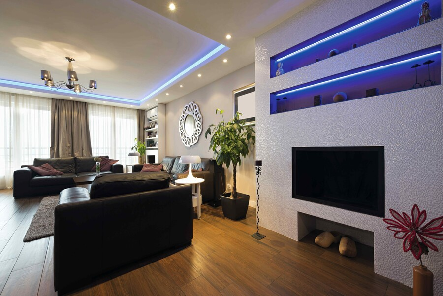 Nowoczesne lampy LED są energooszczędne