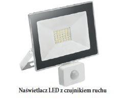GTV - Naświetlacz LED z czujnikiem ruchu