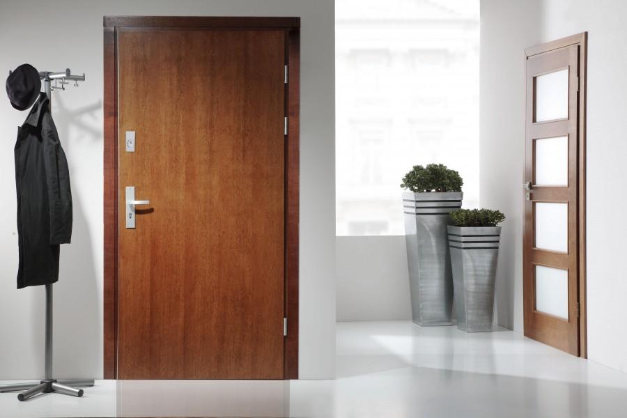 Drzwi do mieszkania powinny być atrakcyjnie wizualnie