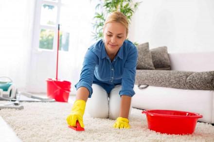 Dywan możemy wyczyścić domowymi sposobami