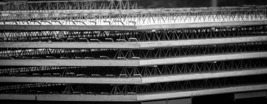Zdj. 1. Stropy typu Filigran są produkowane na zamówienie pod konkretną inwestycję. Źródło: Archiwum TERMAT.