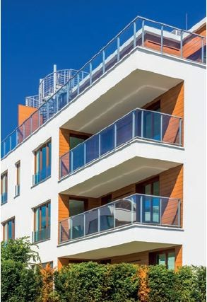 Balkony w technologii Kreisel