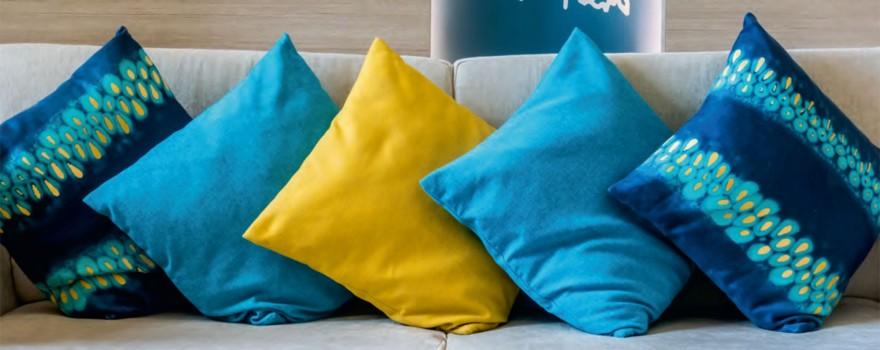 Zdj. 7. Już wkrótce ofertę RAVI wzbogacą dekoracyjne poduszki. Źródło: Archiwum RAVI.