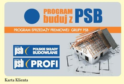 Karta programu - Buduj z PSB