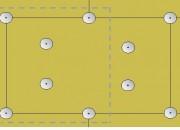 Połączenia płyt izolacyjnych muszą być zeszlifowane na równo. Wełnę mineralną mocuje się dodatkowo kołkami w liczbie 6 szt./m2 ściany.